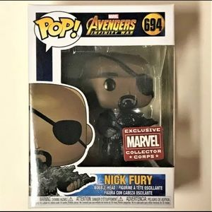 FUNKO POP - MARVEL- Nick Fury #694 (new)